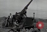Image of US 24th Infantry soldiers firing from tank United States USA, 1947, second 13 stock footage video 65675032380