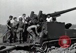 Image of US 24th Infantry soldiers firing from tank United States USA, 1947, second 21 stock footage video 65675032380