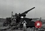 Image of US 24th Infantry soldiers firing from tank United States USA, 1947, second 28 stock footage video 65675032380