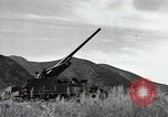 Image of US 24th Infantry soldiers firing from tank United States USA, 1947, second 40 stock footage video 65675032380