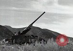 Image of US 24th Infantry soldiers firing from tank United States USA, 1947, second 41 stock footage video 65675032380