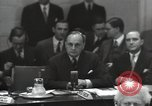 Image of UN Security Council New York City USA, 1951, second 29 stock footage video 65675032387
