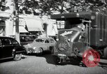 Image of Sanitation trucks and workers Paris France, 1953, second 32 stock footage video 65675032388