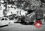 Image of Sanitation trucks and workers Paris France, 1953, second 34 stock footage video 65675032388