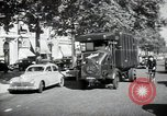 Image of Sanitation trucks and workers Paris France, 1953, second 35 stock footage video 65675032388