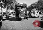 Image of Sanitation trucks and workers Paris France, 1953, second 40 stock footage video 65675032388