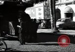 Image of Sanitation trucks and workers Paris France, 1953, second 54 stock footage video 65675032388