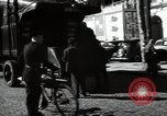 Image of Sanitation trucks and workers Paris France, 1953, second 56 stock footage video 65675032388