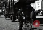 Image of Sanitation trucks and workers Paris France, 1953, second 57 stock footage video 65675032388