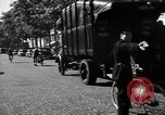 Image of Sanitation trucks and workers Paris France, 1953, second 58 stock footage video 65675032388