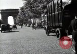 Image of Sanitation trucks and workers Paris France, 1953, second 61 stock footage video 65675032388