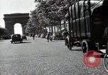Image of Sanitation trucks and workers Paris France, 1953, second 62 stock footage video 65675032388