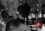 Image of Army civil defense exercise in Paris France, 1951, second 39 stock footage video 65675032389