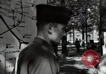 Image of Army civil defense exercise in Paris France, 1951, second 41 stock footage video 65675032389