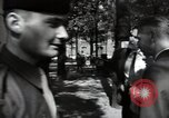 Image of Army civil defense exercise in Paris France, 1951, second 42 stock footage video 65675032389