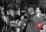 Image of Army civil defense exercise in Paris France, 1951, second 43 stock footage video 65675032389