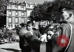 Image of Army civil defense exercise in Paris France, 1951, second 59 stock footage video 65675032389
