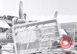 Image of maintenance of Convair B-36 Fort Worth Texas USA, 1951, second 1 stock footage video 65675032401