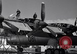 Image of maintenance of Convair B-36 Fort Worth Texas USA, 1951, second 11 stock footage video 65675032401