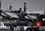 Image of maintenance of Convair B-36 Fort Worth Texas USA, 1951, second 13 stock footage video 65675032401