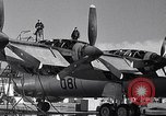 Image of maintenance of Convair B-36 Fort Worth Texas USA, 1951, second 17 stock footage video 65675032401
