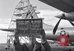 Image of maintenance of Convair B-36 Fort Worth Texas USA, 1951, second 20 stock footage video 65675032401