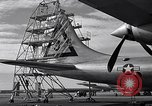 Image of maintenance of Convair B-36 Fort Worth Texas USA, 1951, second 21 stock footage video 65675032401