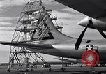 Image of maintenance of Convair B-36 Fort Worth Texas USA, 1951, second 24 stock footage video 65675032401