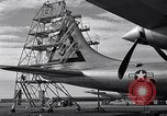 Image of maintenance of Convair B-36 Fort Worth Texas USA, 1951, second 25 stock footage video 65675032401