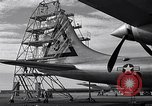 Image of maintenance of Convair B-36 Fort Worth Texas USA, 1951, second 27 stock footage video 65675032401