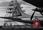 Image of maintenance of Convair B-36 Fort Worth Texas USA, 1951, second 31 stock footage video 65675032401