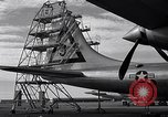 Image of maintenance of Convair B-36 Fort Worth Texas USA, 1951, second 32 stock footage video 65675032401