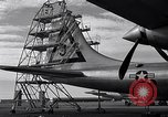 Image of maintenance of Convair B-36 Fort Worth Texas USA, 1951, second 33 stock footage video 65675032401
