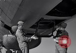 Image of maintenance of Convair B-36 Fort Worth Texas USA, 1951, second 36 stock footage video 65675032401