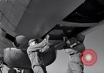 Image of maintenance of Convair B-36 Fort Worth Texas USA, 1951, second 39 stock footage video 65675032401