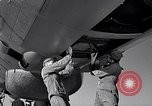 Image of maintenance of Convair B-36 Fort Worth Texas USA, 1951, second 40 stock footage video 65675032401