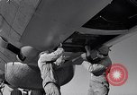 Image of maintenance of Convair B-36 Fort Worth Texas USA, 1951, second 41 stock footage video 65675032401