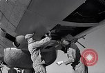Image of maintenance of Convair B-36 Fort Worth Texas USA, 1951, second 42 stock footage video 65675032401