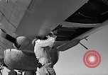 Image of maintenance of Convair B-36 Fort Worth Texas USA, 1951, second 57 stock footage video 65675032401