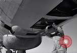 Image of maintenance of Convair B-36 Fort Worth Texas USA, 1951, second 60 stock footage video 65675032401