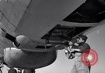 Image of maintenance of Convair B-36 Fort Worth Texas USA, 1951, second 62 stock footage video 65675032401