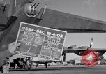 Image of different views of Convair B-36 Fort Worth Texas USA, 1951, second 1 stock footage video 65675032407