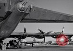 Image of different views of Convair B-36 Fort Worth Texas USA, 1951, second 2 stock footage video 65675032407