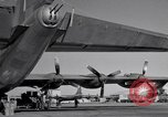 Image of different views of Convair B-36 Fort Worth Texas USA, 1951, second 3 stock footage video 65675032407