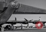 Image of different views of Convair B-36 Fort Worth Texas USA, 1951, second 5 stock footage video 65675032407