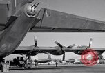 Image of different views of Convair B-36 Fort Worth Texas USA, 1951, second 10 stock footage video 65675032407