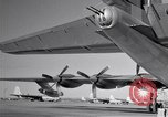 Image of different views of Convair B-36 Fort Worth Texas USA, 1951, second 16 stock footage video 65675032407