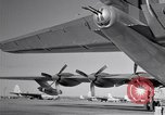 Image of different views of Convair B-36 Fort Worth Texas USA, 1951, second 22 stock footage video 65675032407