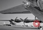 Image of different views of Convair B-36 Fort Worth Texas USA, 1951, second 23 stock footage video 65675032407