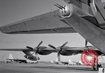 Image of different views of Convair B-36 Fort Worth Texas USA, 1951, second 27 stock footage video 65675032407